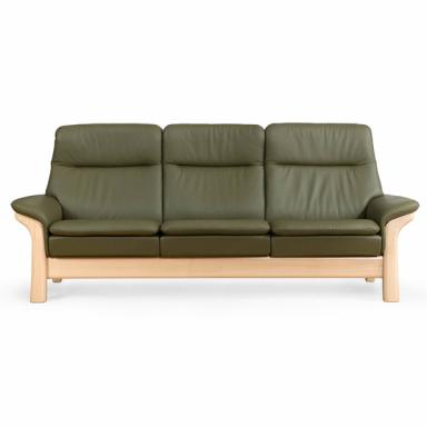 Contemporary Galleries - Saga High Back Stressless Sofa #1023