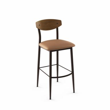 Awesome Contemporary Galleries Hint Wood Back Counter Stool 425 Creativecarmelina Interior Chair Design Creativecarmelinacom