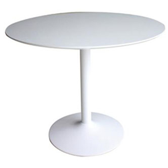Contemporary Galleries Mid Century Round Dining Table