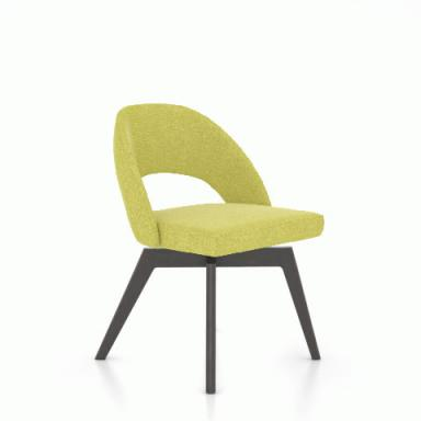 Wondrous Cns5140 Swivel Side Chair Contemporary Galleries Andrewgaddart Wooden Chair Designs For Living Room Andrewgaddartcom