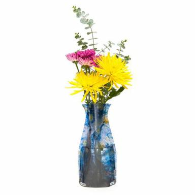 Modgy Vincent Van Gogh Starry Night Flower Vase Affordable Gift