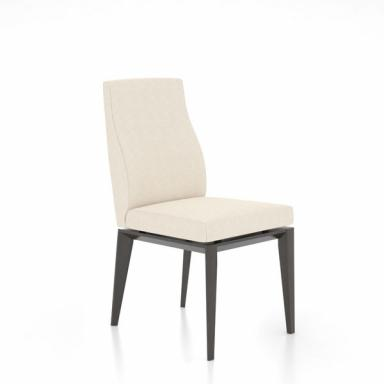 Canadel Downtown Solid Wood Mid-back Upholstered Dining Chair