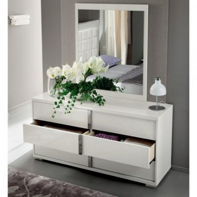 Dresser Stocked as Shown, Mirror is Optional