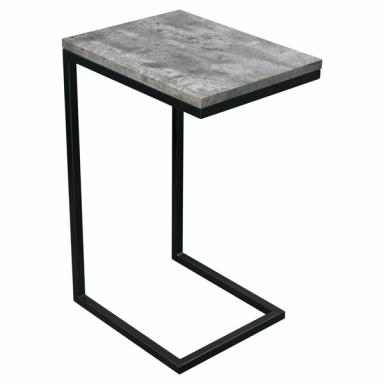 Durable Low-Profile Base Snack Side Table for Drinks or Remote