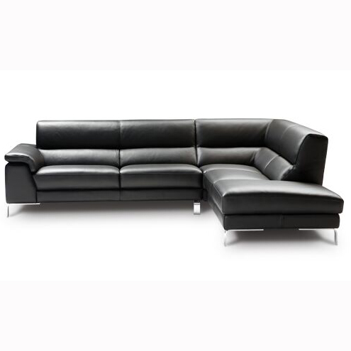 Nicoletti Cali Leather Sectional DIV728