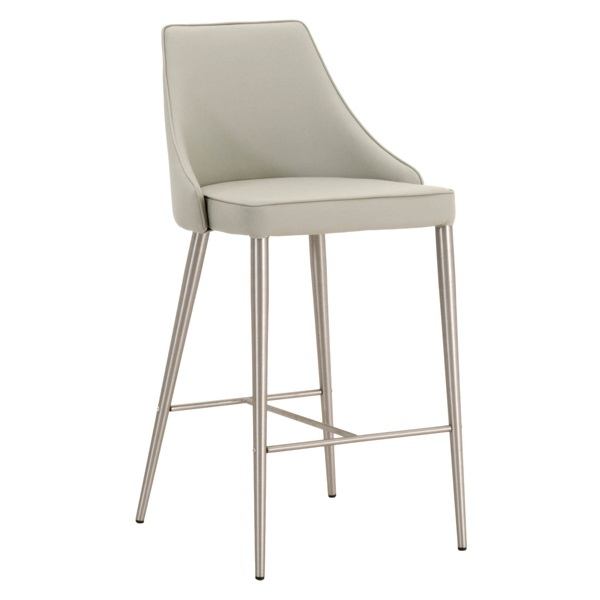 Metal Framed Fixed Height Counter Stool