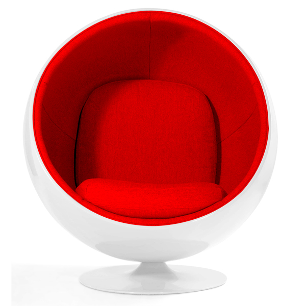 Luna Lounge Mid-Century Chair CH7144
