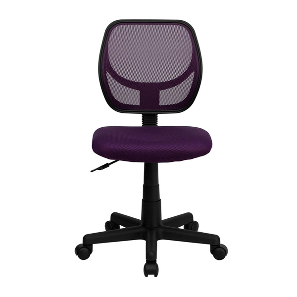 Colorful Mesh Back Student Desk Chair Wa 3074 Pur