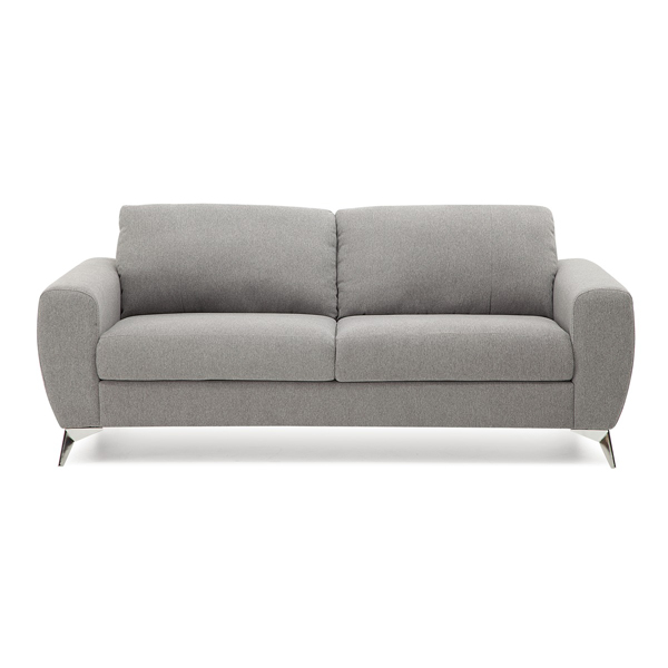 Vivy Condo Size Small Scale Fabric Sofa with Metal Legs