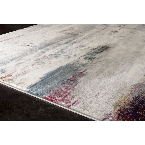 Contemporary Distressed Rug