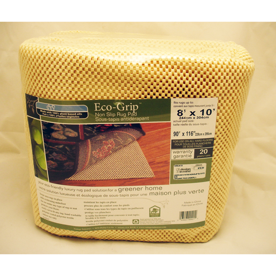 Organic Rug Underlay for Hardwood Floors 8\'x10\' V14750
