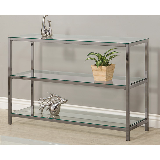 ... 3 Tier Console Table ...