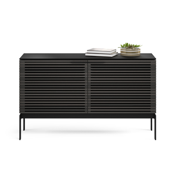 Louvered Door TV Stand 50\