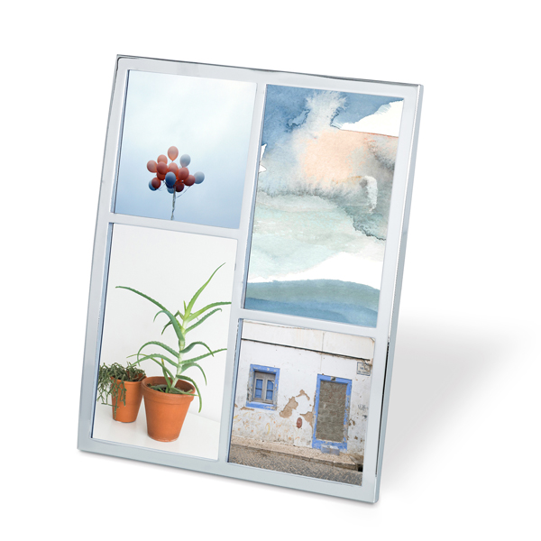 Senza Multi-Photo Frame Chrome