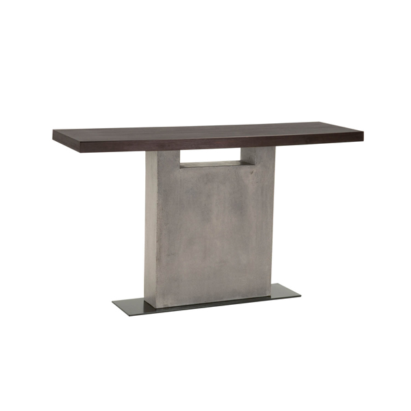 Contemporary Industrial Design Console Sofa Table