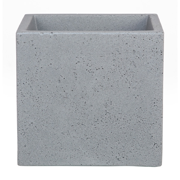 Square Cubed Concrete Planter 11\