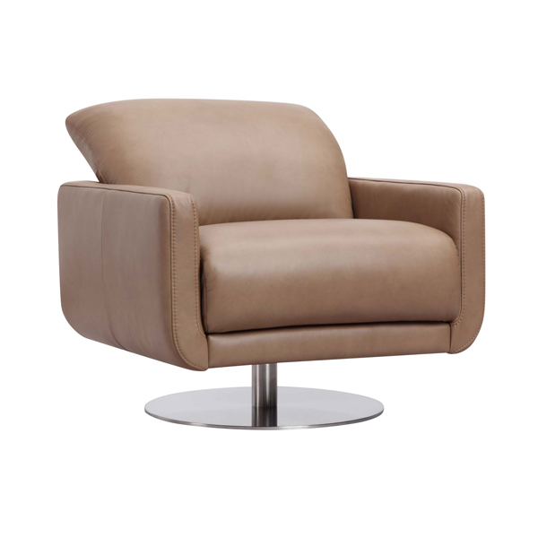 German Designed Leather Swivel Chair
