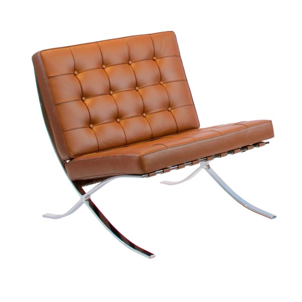 Kube Pabellon Leather Chair NC12