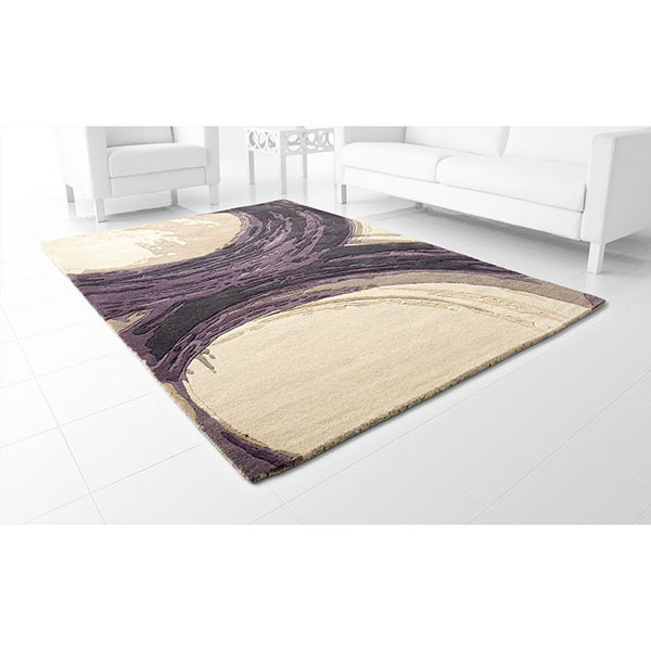 Hand tufted contemporary area rug 06934 percival rug cyan design