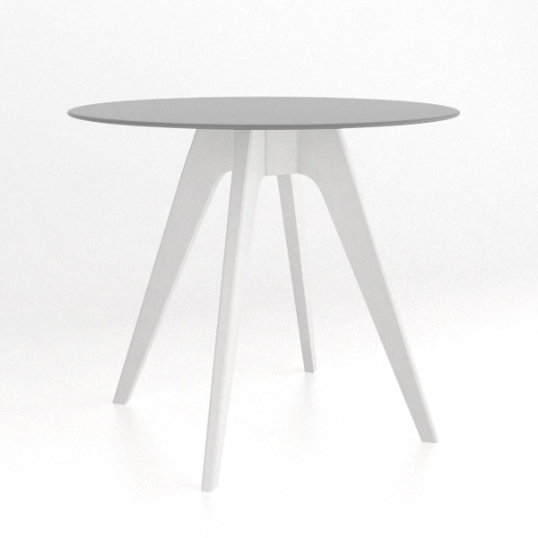 Canadel Solid Wood & Glass Top Counter Table 36\