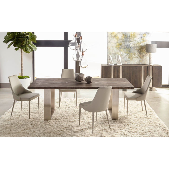 Contemporary Galleries - Sodo Distressed Dining Table
