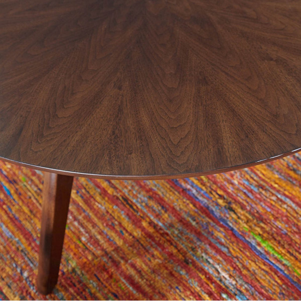 Mid-Century Round End Table #1061
