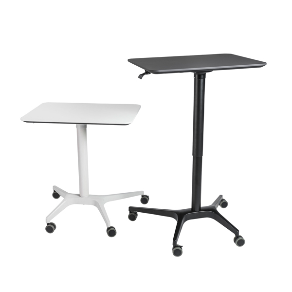 Adjustable Height Standing Desk Cart