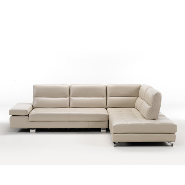 Italian Made Leather Upholstered Sofa