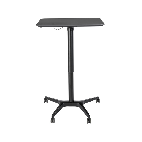 Sit Stand Height Adjustable Laptop Desk Cart 70233