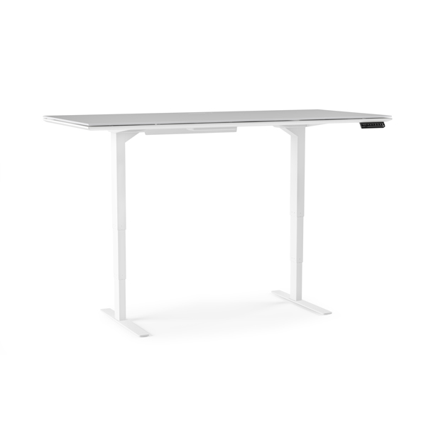 BDI clean contemporary sit lift adjustable height desk high quality