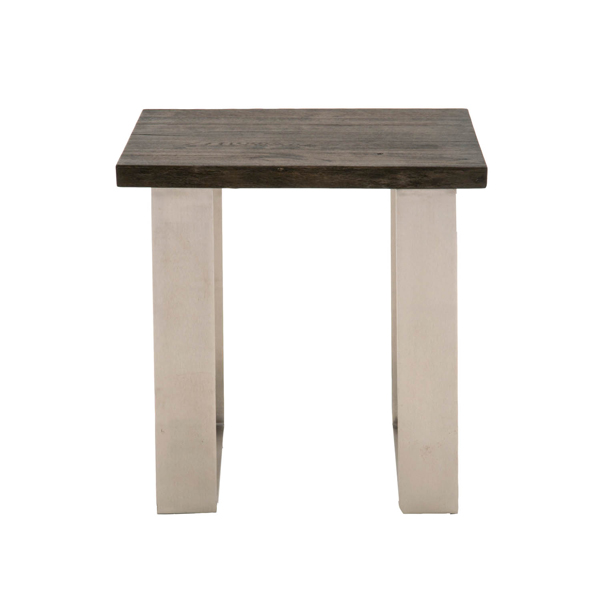 Solidwood Rustic Sodo End Table 4623