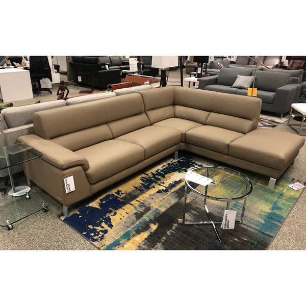 Nicoletti Calia Leather Sectional DIV728
