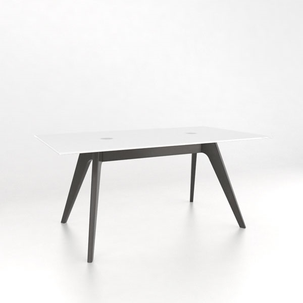 Canadel Downtown Fixed Top Glass Dining Table GRE3866