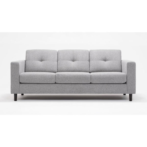 Scall Scale Apartment Size Fabric Sofa