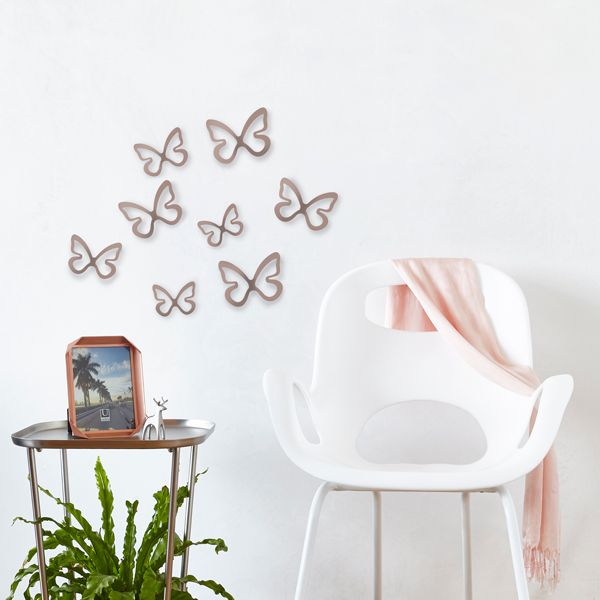 Flitterbye Butterfly Wall Decor Set/8