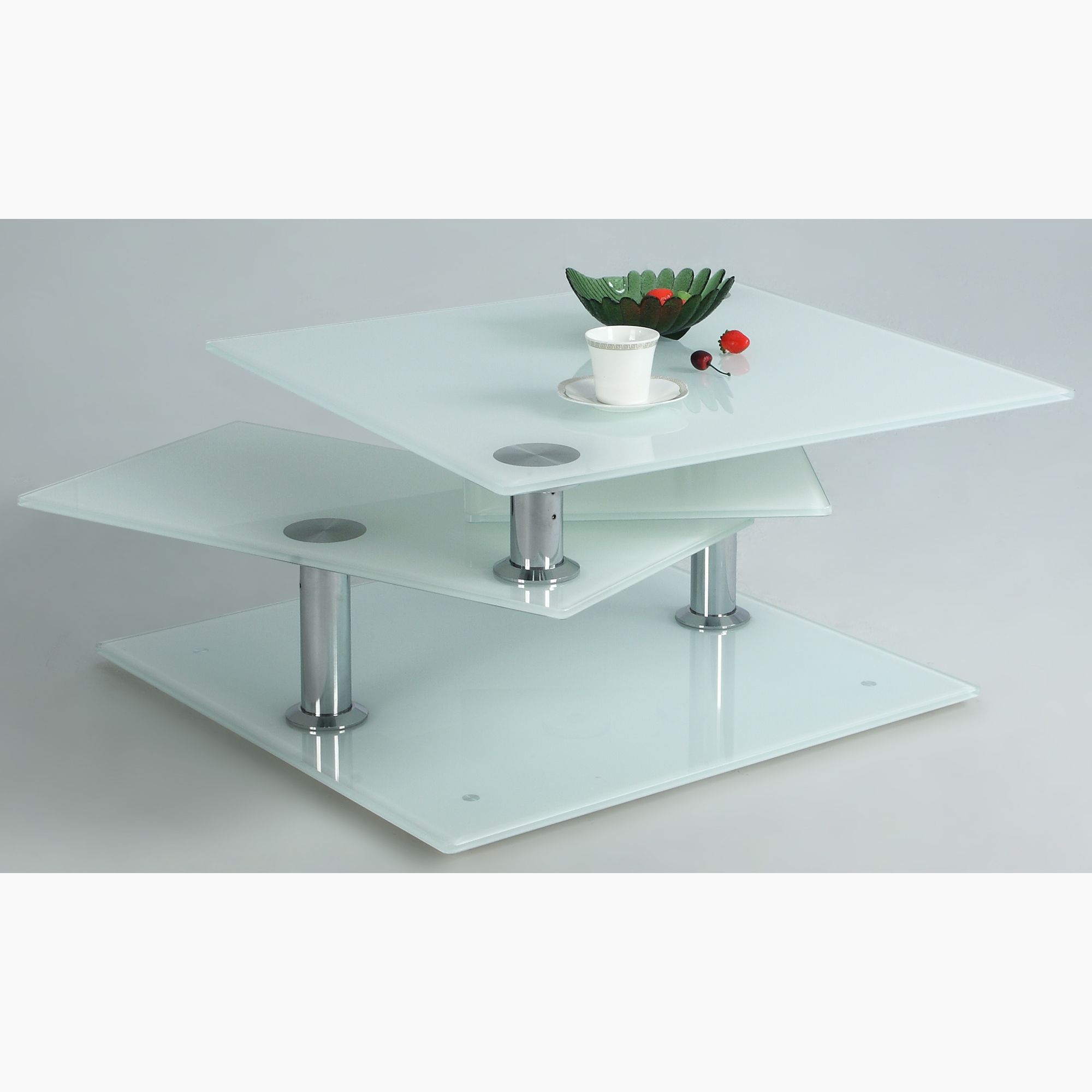Contemporary Galleries Square Motion Cocktail Table