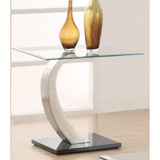 Contemporary End Table 701237
