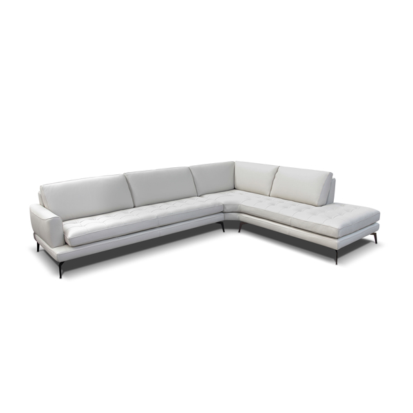 Bracci Italian Made Luxurious Leather Sectional