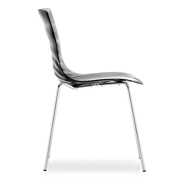 L-EAU Stacking Waterdrop Side Chair Italian Made Designed