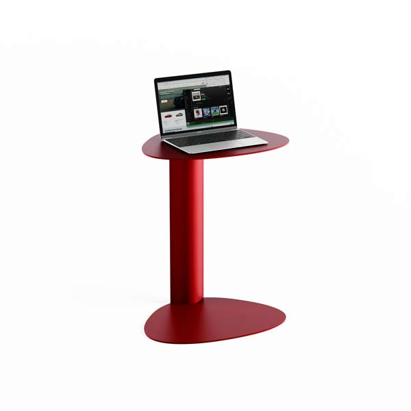 BDI Bink Mobile Media Laptop Table Red