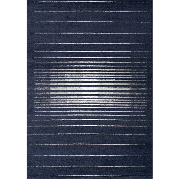 Contemporary Striped Area Rug Spring 8524