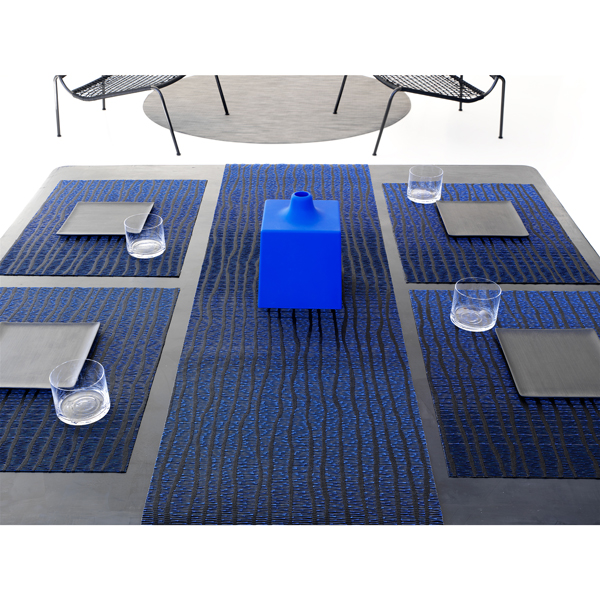 Chilewich Current Placemat Blue