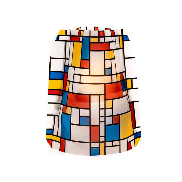 Modgy Mona Luminaires Contemporary Modern Mondrian Indoor Outdoor LED candle