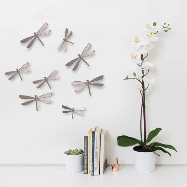 Fun Whimsical Modern Wall Decor