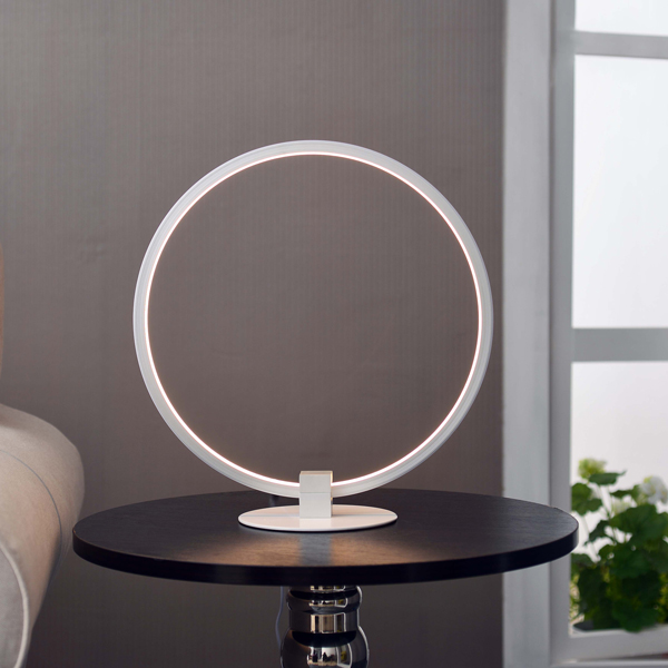 Contemporary Galleries Aurora Led Table Lamp White