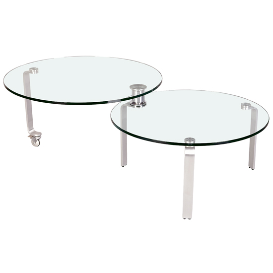 Chintaly Imports 8161-CT Expandable Coffee Table