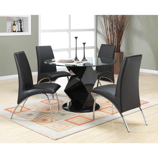 Sleek Modern Contemporary Side Dining Chair