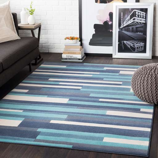 Affordable Linear Durable Area Rug Louisville KY
