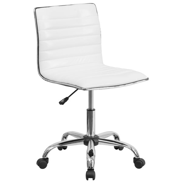 Flash Furniture Desk Chair DS-512B-WH-GG