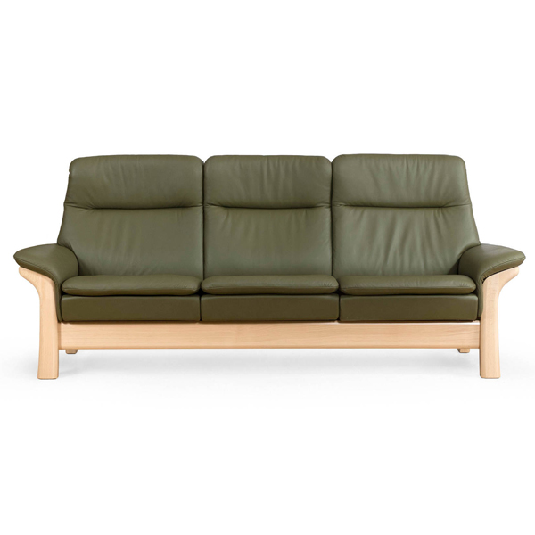Saga High Back Stressless Sofa #1023 - Contemporary Galleries